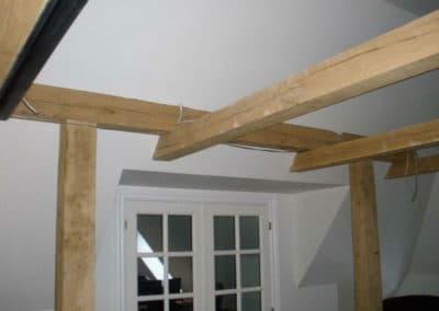 Nyt loft tømrerarbejde