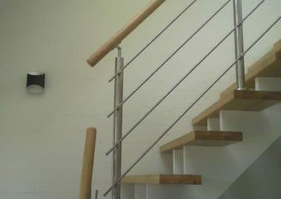 Trappe og gelænder
